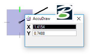 MicroStation – AccuDraw